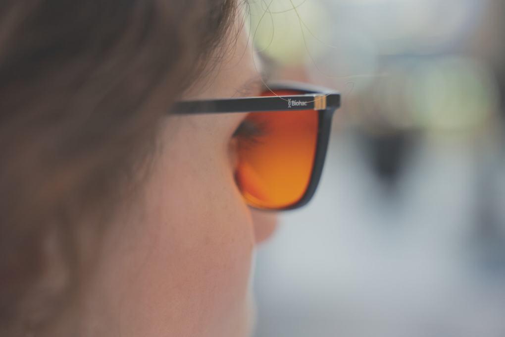 Damskie okulary blokujące światło niebieskie biohac