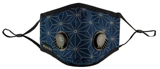 Granatowa maska Vaire w gwiazdy