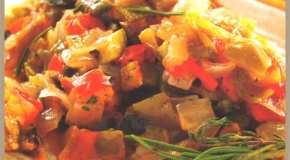 Estofado mediterráneo de vegetales