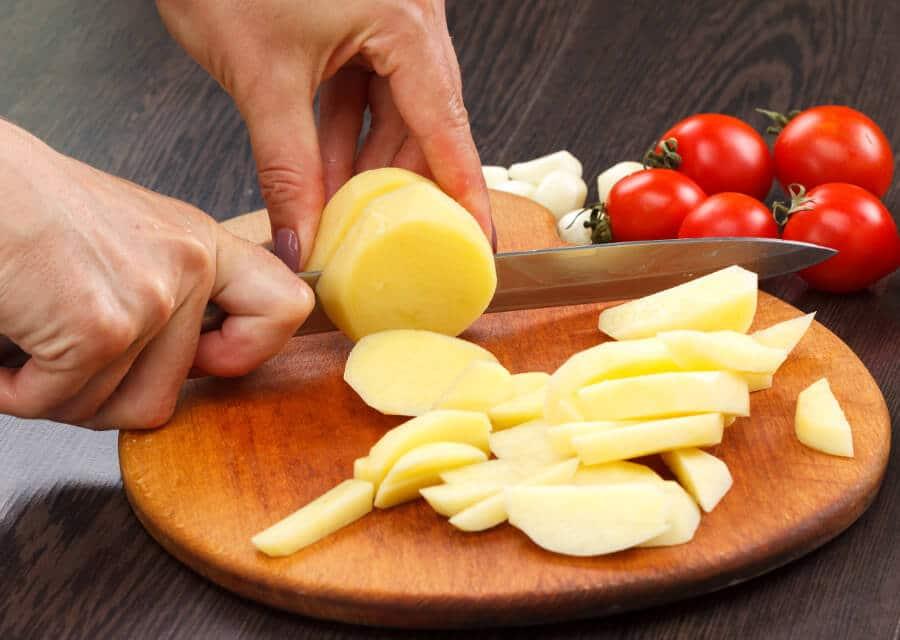 Cómo cortar patatas en función de su uso culinario