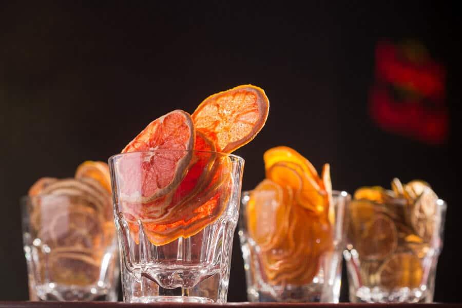 uso de los citricos deshidratados