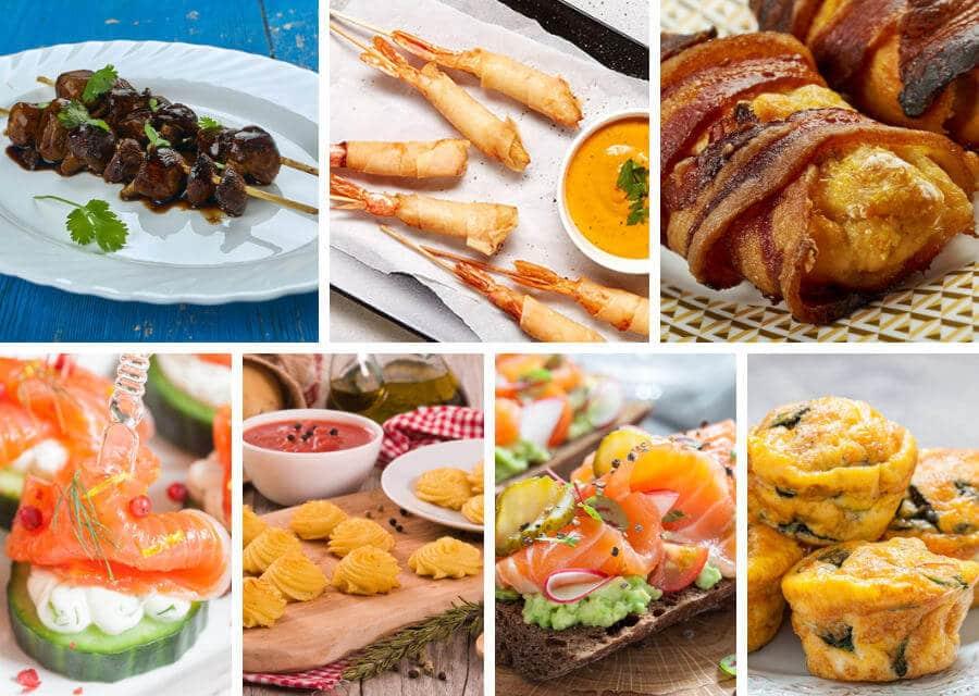 Aperitivos gourmet: 7 ideas para sorprender a tus invitados