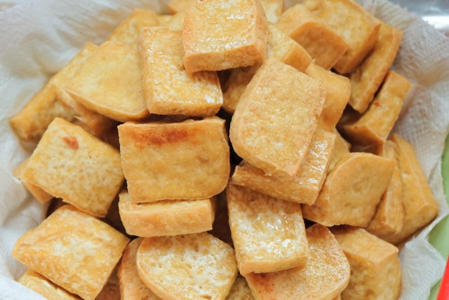 receta facil rapida tofu frito crujiente