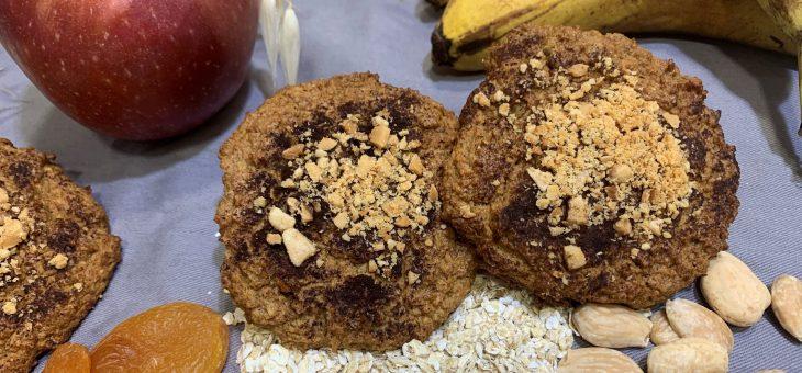Galletas bizcocho de Avena – ¡Saludables! Sin azúcar añadido ni harinas procesadas