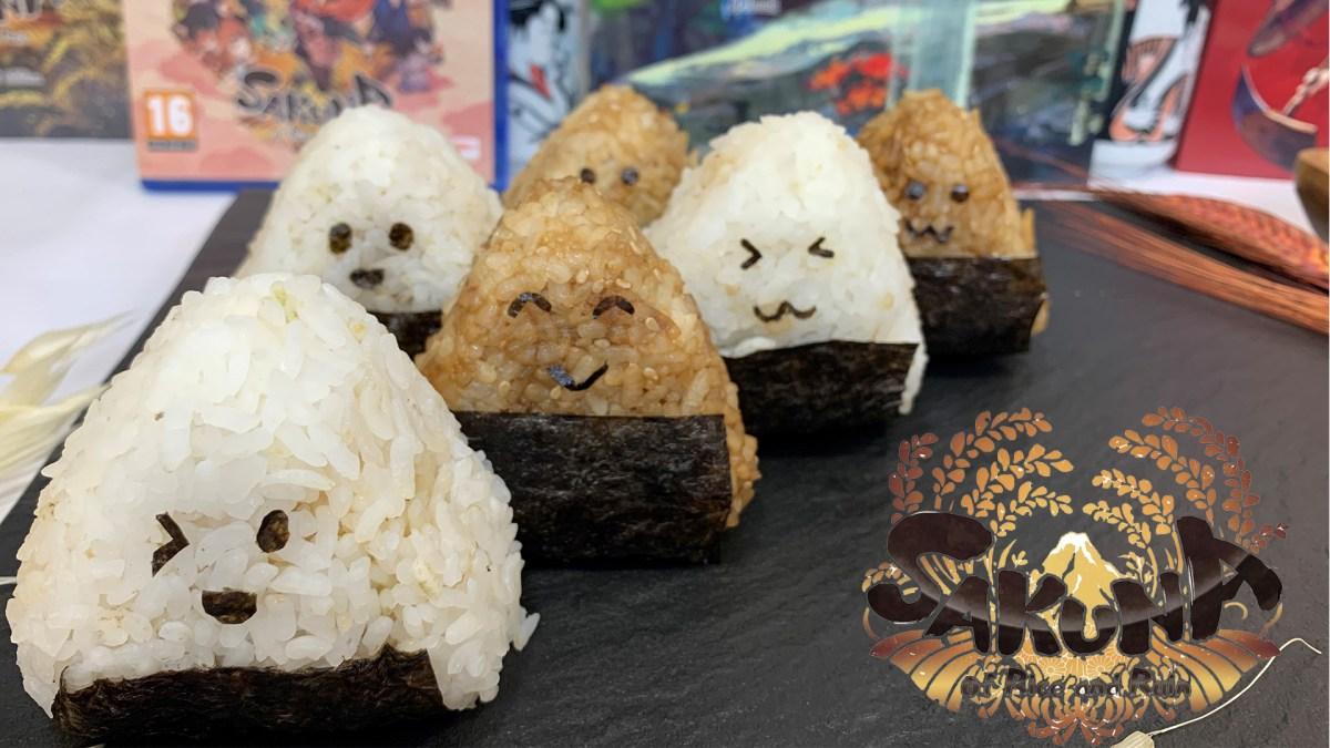 Onigiri Tradicional - Sakuna of Rice and Ruin