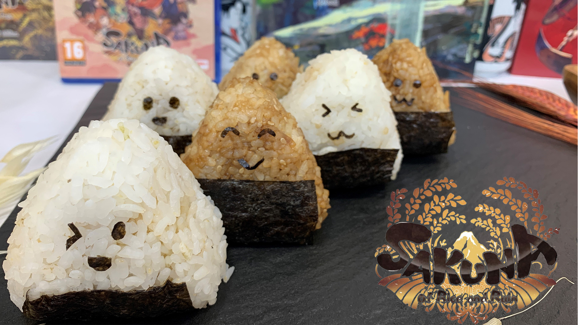 Onigiri Tradicional - Sakuna of Rice and Ruin