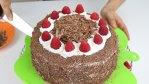 Tarta selva negra - receta original de Schwarzwälder Kirschtorte