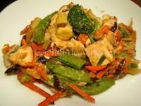 Pollo salteado con verduras - Cocina de Valen