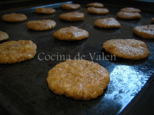 Galletas de Avena y Nueces - Cocina de Valen