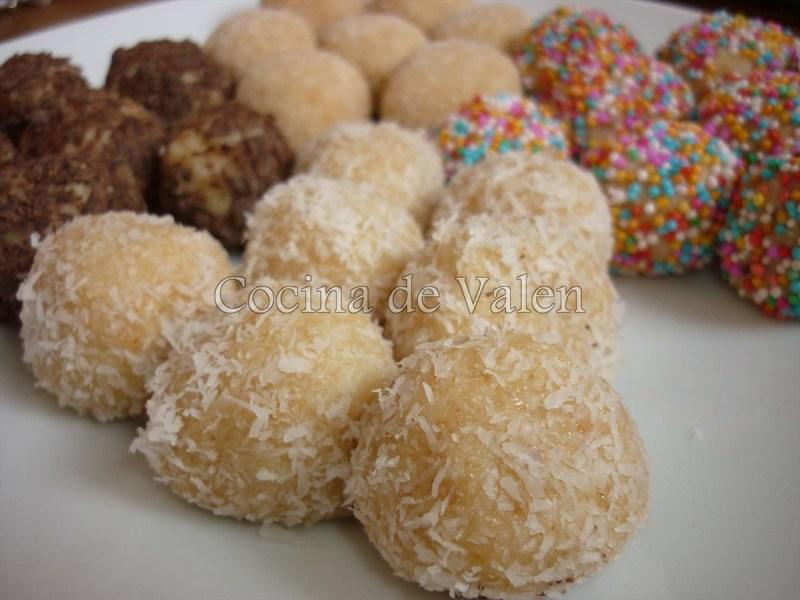 Bolitas de Coco - Cocina de Valen