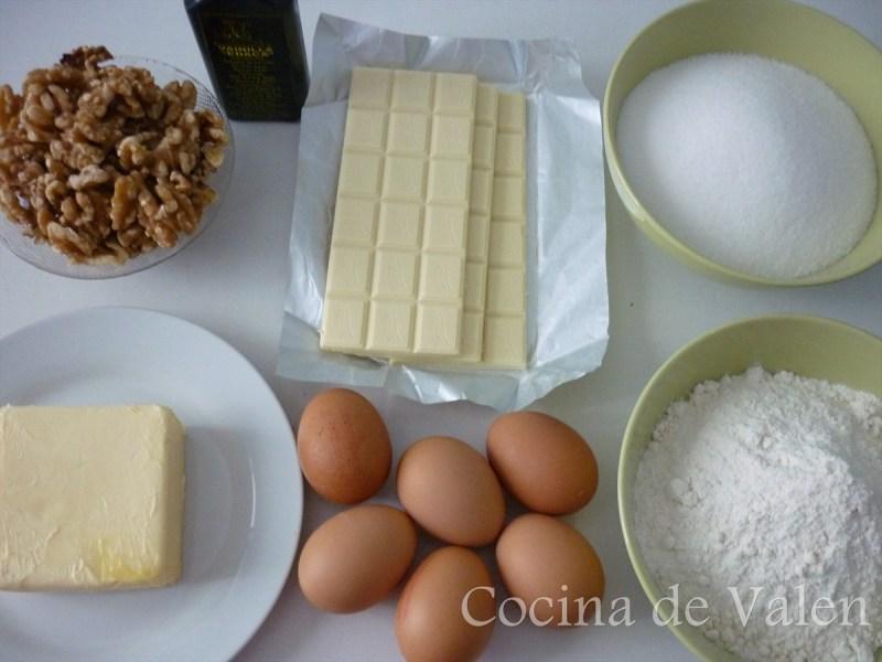 Brownies de Chocolate Blanco