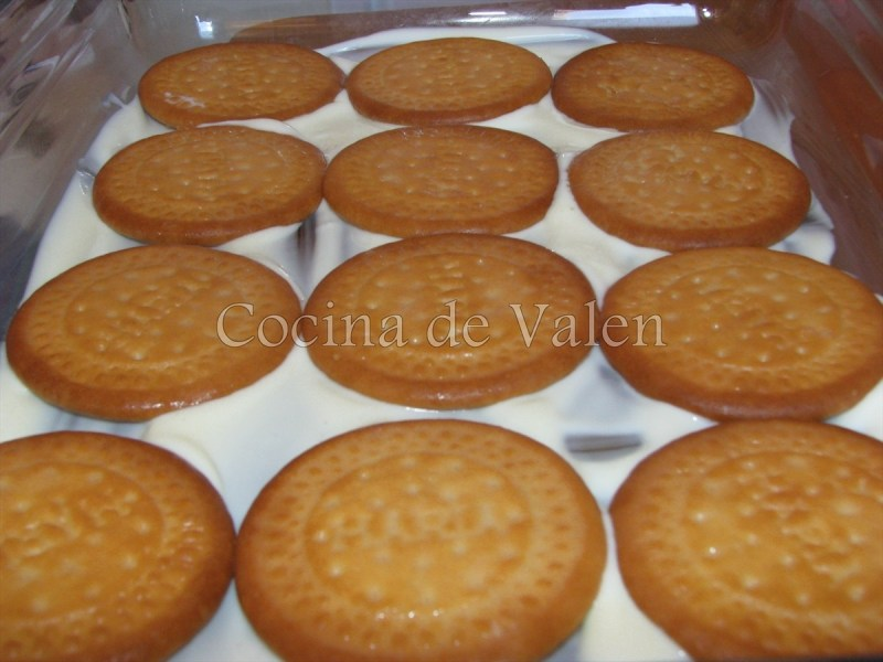 Tarta Fría de Melocotones - Cocina de Valen