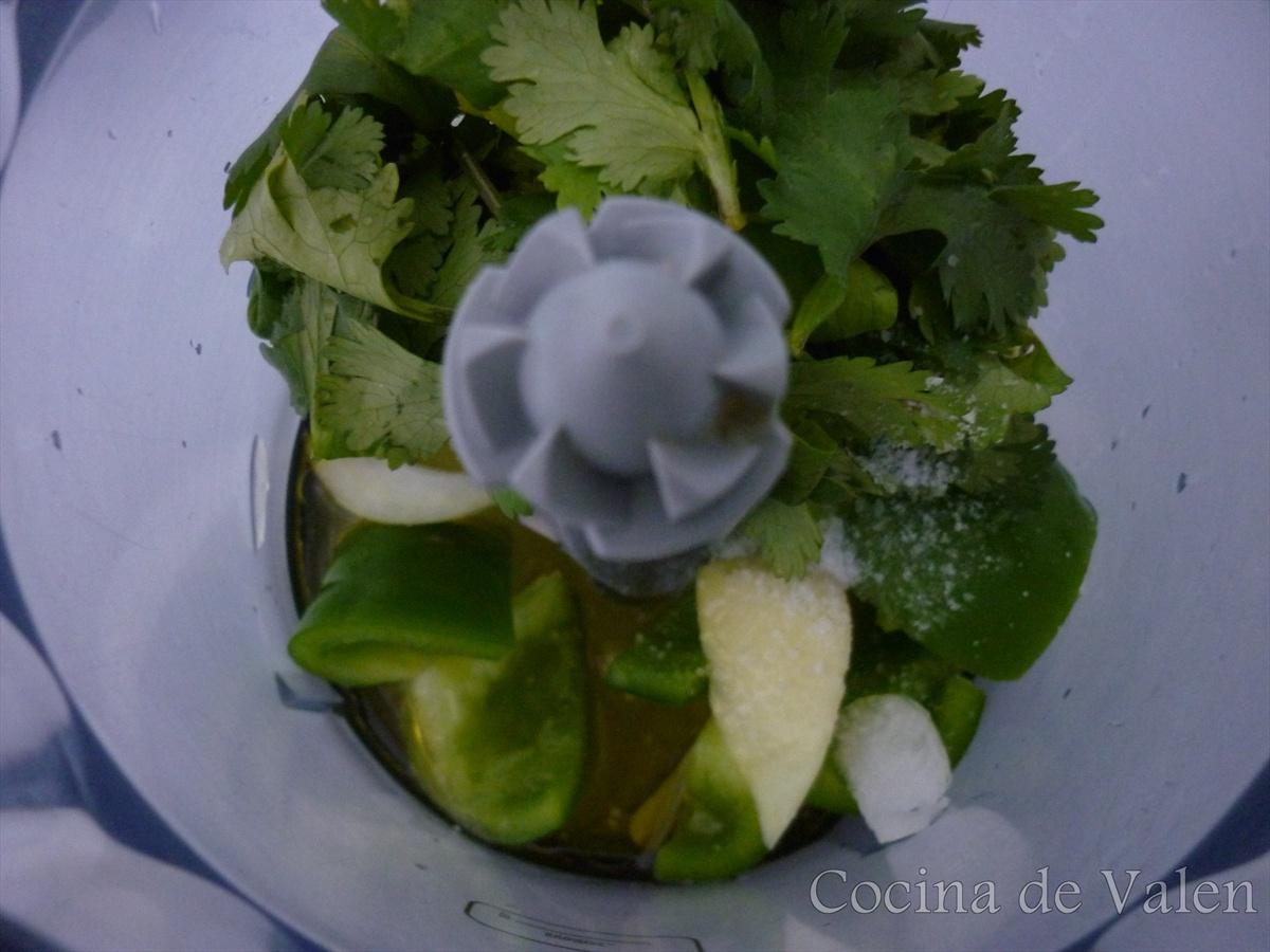 Guasacaca sin aguacate - Cocina de Valen