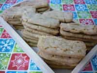 Galletas crujientes con piñones y nueces - Cocina de Valen