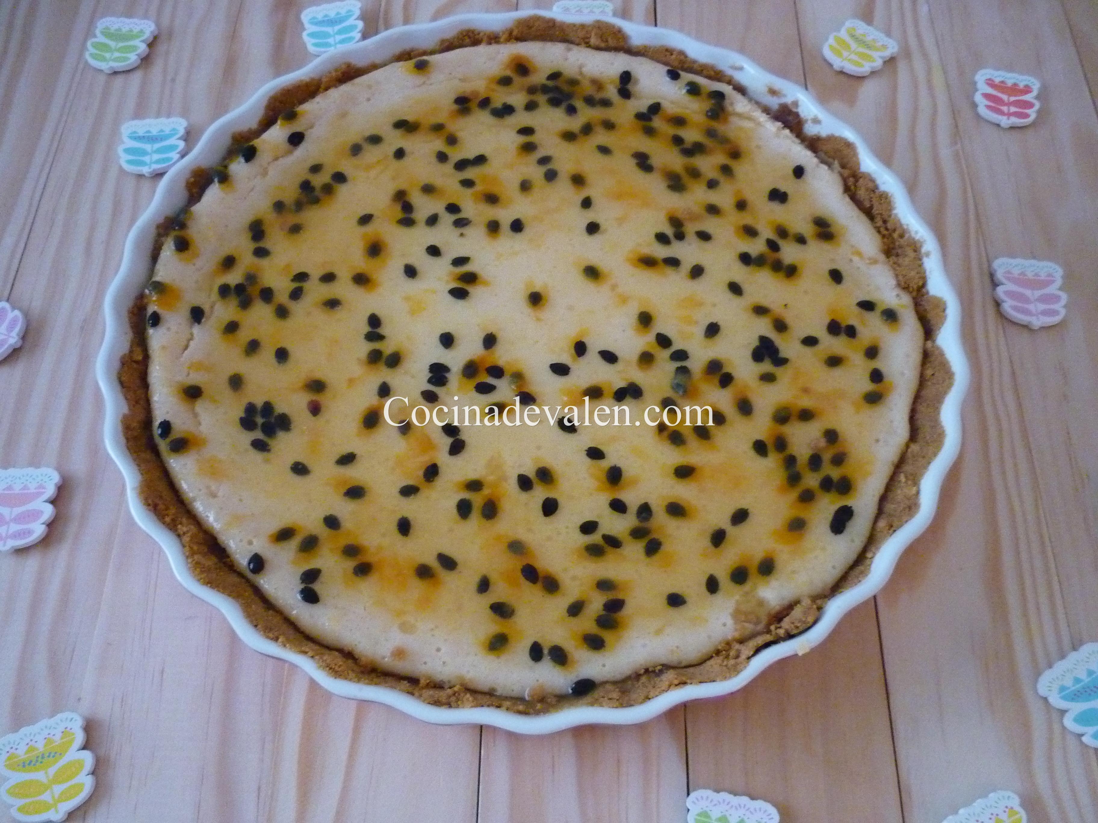 Pie de limón y maracuyá - Cocina de Valen
