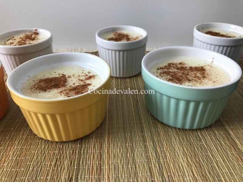 Arroz con leche express - Cocina de Valen