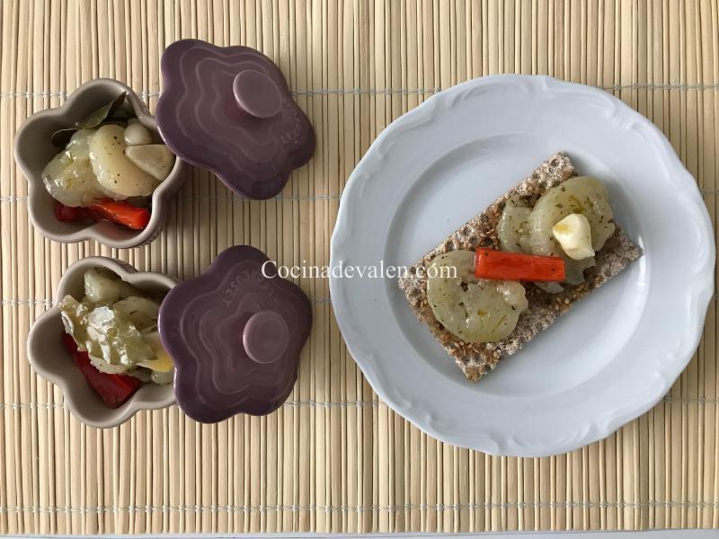 Escabeche de Berenjenas - Cocina de Valen