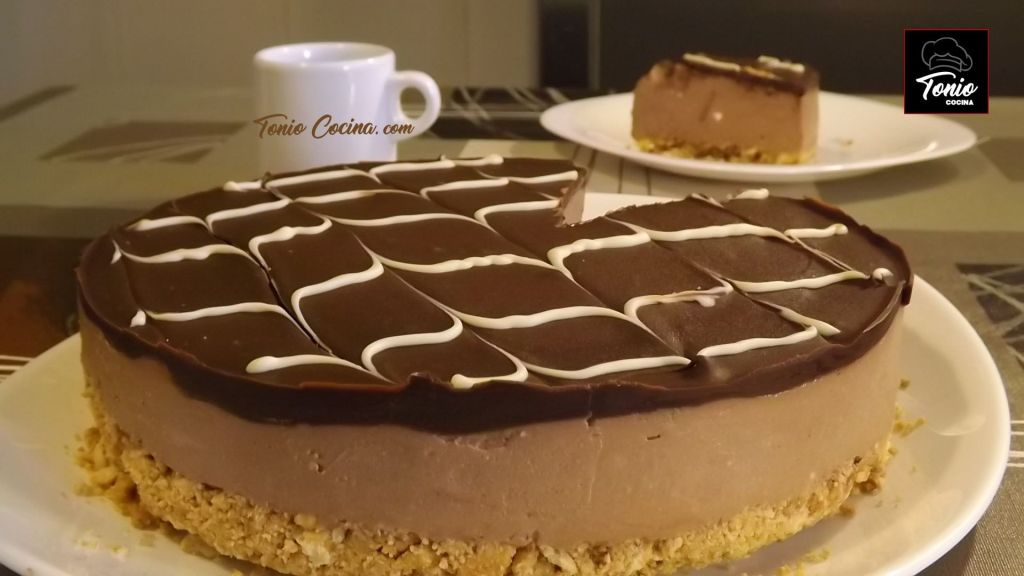 Tarta cheesecake de chocolate (sin horno)