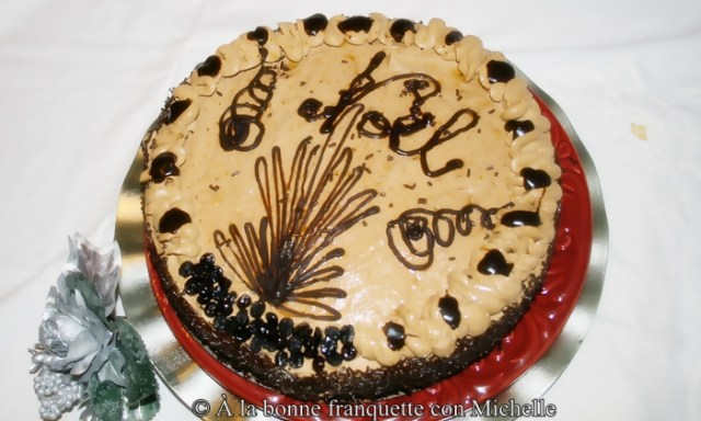 Gâteau Moka - Pastel de Moka