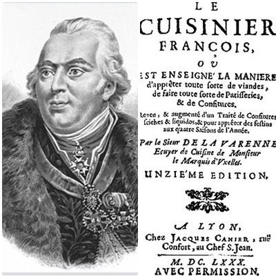 """François-Pierre de la Varenne, autor de """"Le Cuisinier François"""""""