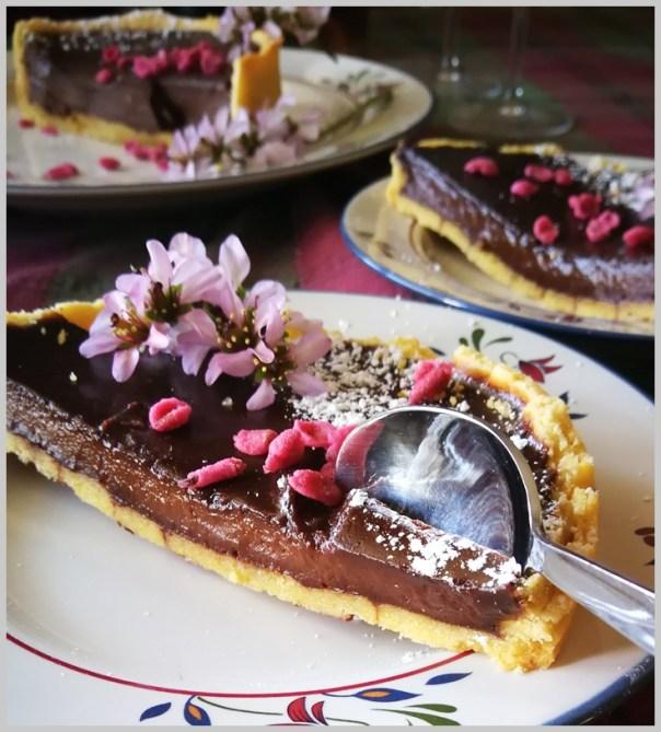 Tarta de chocolate de Fréderic Anton