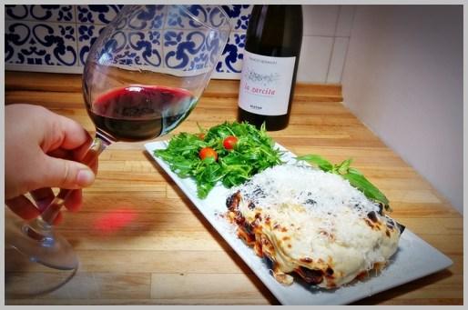 Lasaña a la Boloñesa. Lasagna alla Bolognese