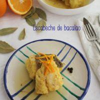 Escabeche de bacalao, receta de la Cocina de Jaén
