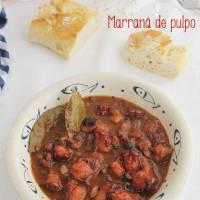 Marraná de pulpo, receta de Almería