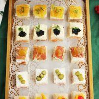 5 canapés fáciles con pan de molde para Navidad o cualquier celebración