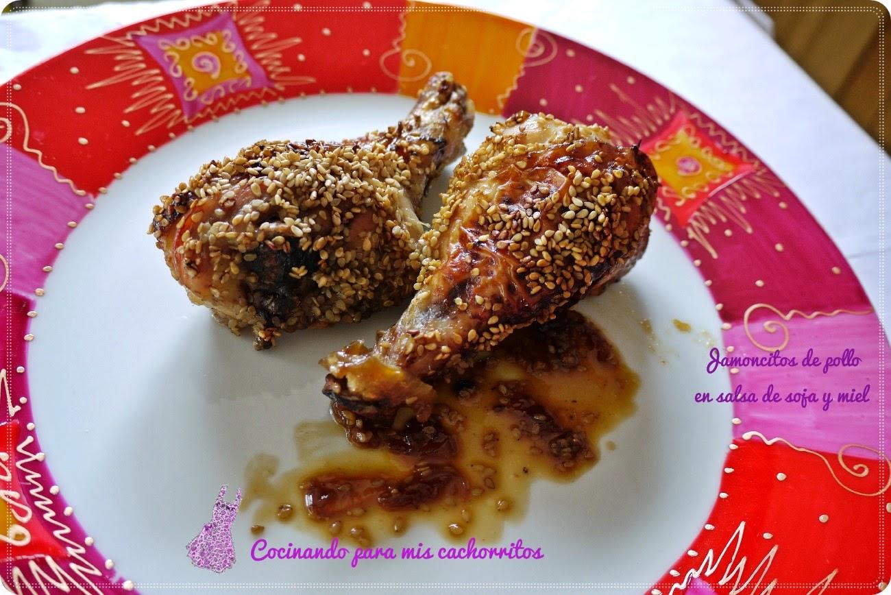Como Cocinar Jamoncitos De Pollo | Jamoncitos De Pollo En Salsa De Soja Y Miel Deliciosa Receta Con