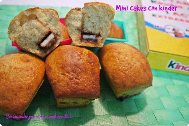 mini cakes en el microondas