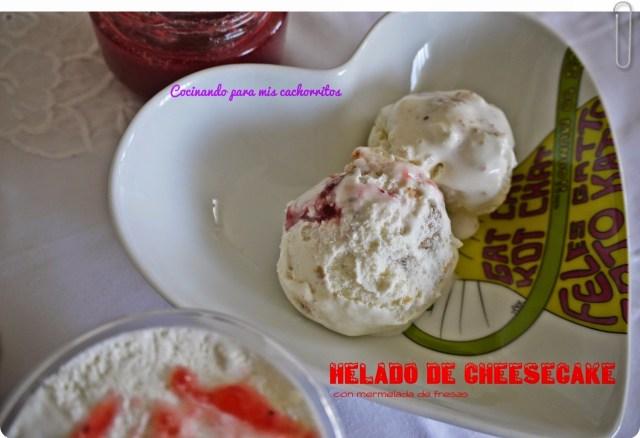 helado de cheesecake
