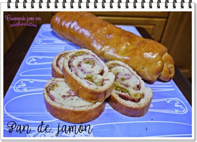 pan venezolano de jamón
