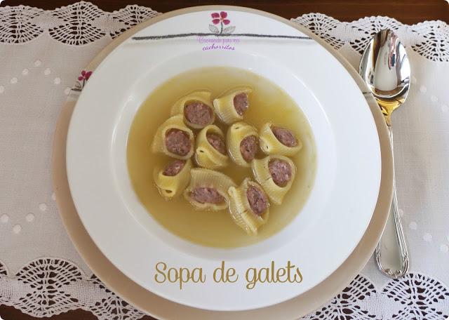 sopa de galets