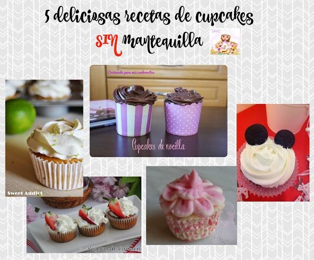 recetas de cupcake sin mantequilla
