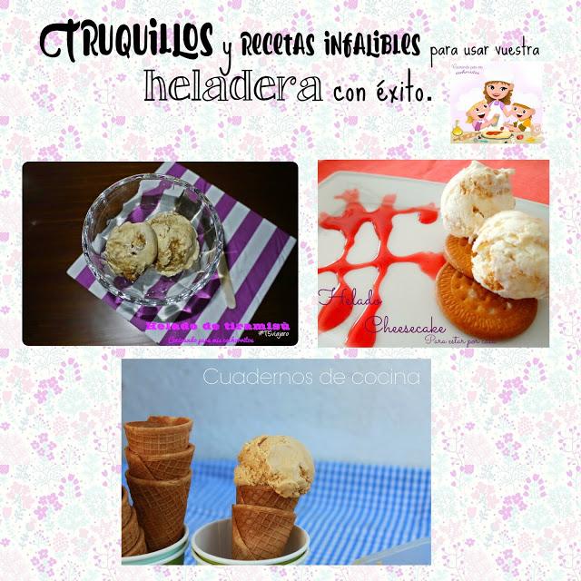 Cómo hacer helados caseros