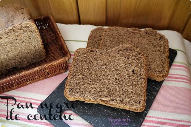 Pan negro de centeno