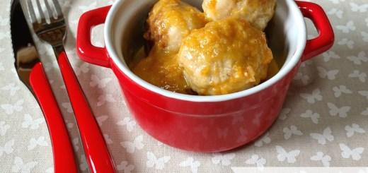 Albónidgas de pollo