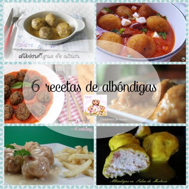 6 recetas de albóndigas