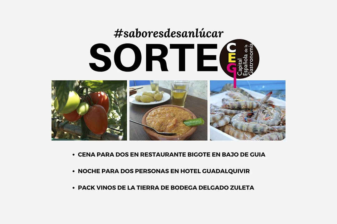 SORTEO #saboresdesanlúcar