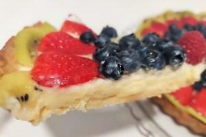 Como hacer tarta de frutas. Cocinando por Sanlúcar.