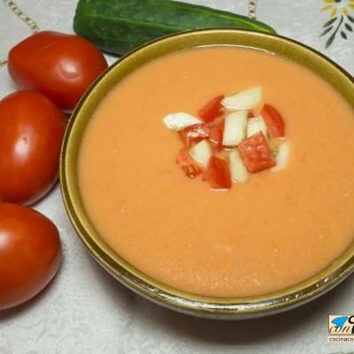 Gazpacho andaluz, el de siempre y muy refrescante 1