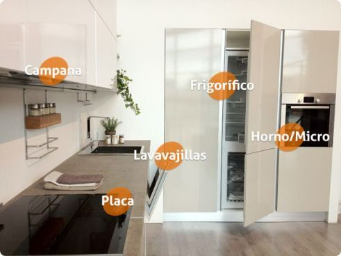 Electrodomésticos para cocinas