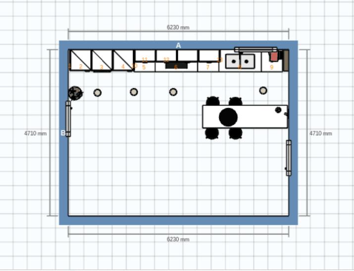 Ahora Ya Disponemos De Las Medidas Necesarias Para Realizar El Proyecto De  La Cocina. En El Caso De Que Ya Tengamos Claro Los Muebles Que Se Van A  Instalar ...