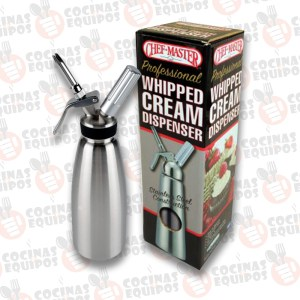 DISPENSADOR PARA CREMA BATIDA CHEF MASTER 90063