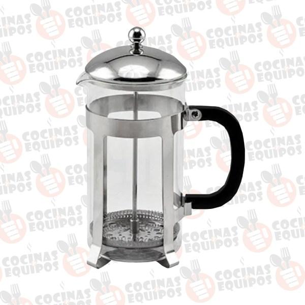 PRENSA DE CAFE FRANCESA DE VIDRIO Y ACERO INOXIDABLE WINCO FPCM-33
