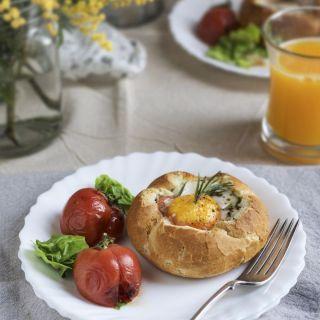 Panecillos rellenos, desayunos de fin de semana