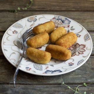 Croquetas de pollo caseras con Thermomix (y tradicional)
