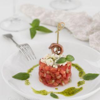 tartar de tomate