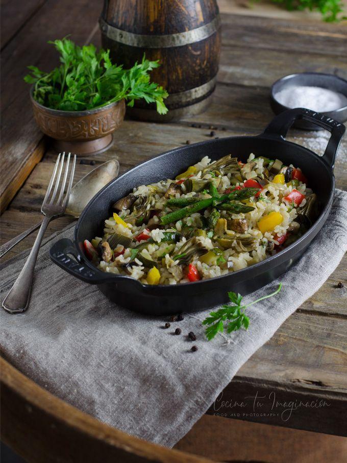 arroz de verduras